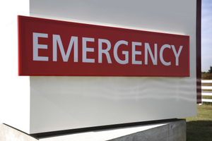 Dental emergency sign at Boones Landing Dental Center
